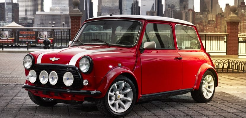 Classic Mini electric concept