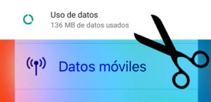 Datos móviles consumidos