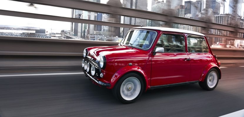 The Classic Mini en movimiento