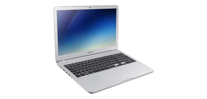 frontal Samsung Notebook 5