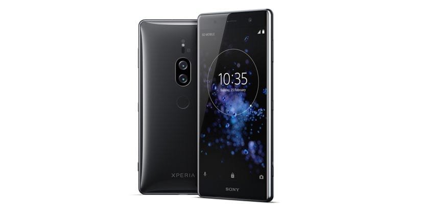 Sony Xperia XZ2 Premium negro cromado
