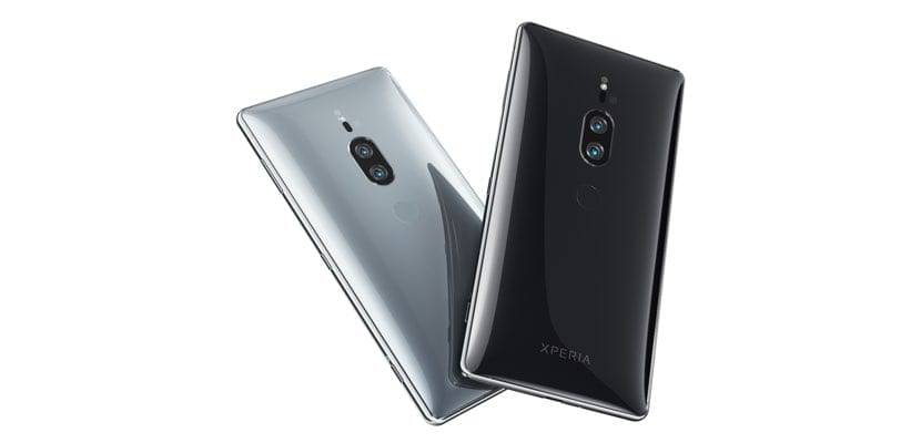 trasera Sony Xperia XZ2 Premium
