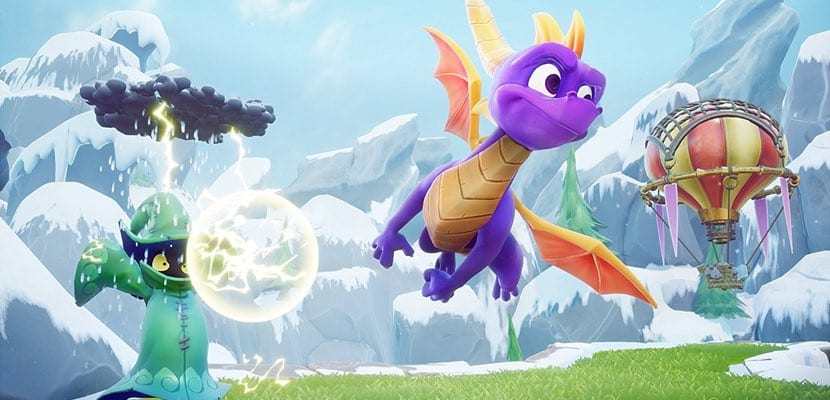 Spyro Reignited Trilogy lanzamiento