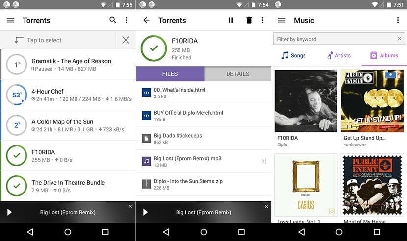 Descargar torrents con Android