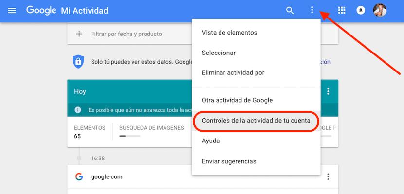 Acceder a mi historial de Google