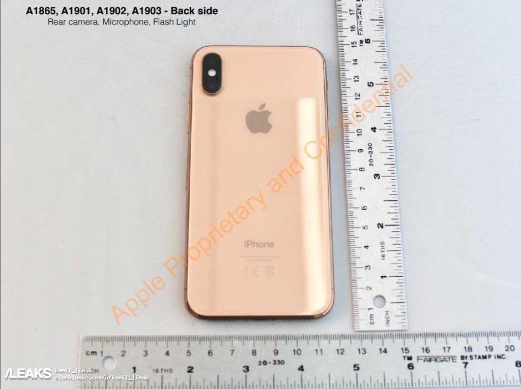 iPhone X dorado