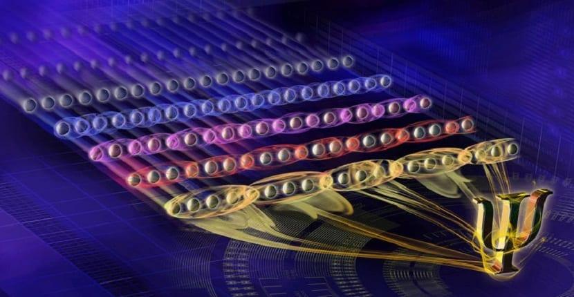 qubits entrelazados