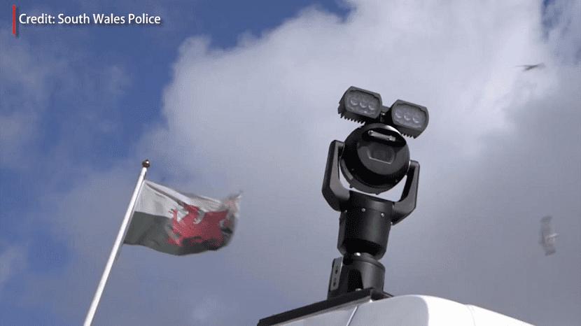 Camara reconocimiento facial Gales