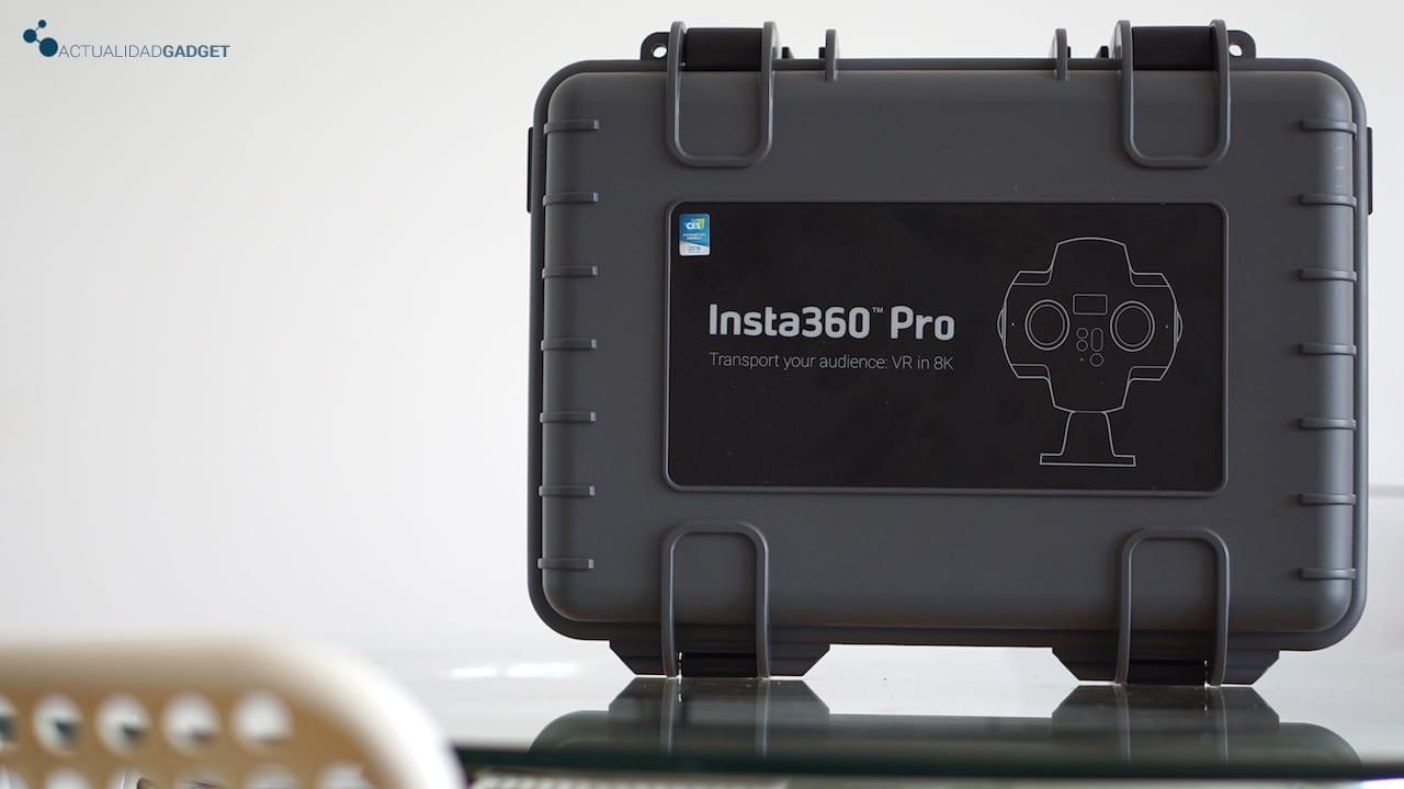 Maletín de la Insta360 Pro