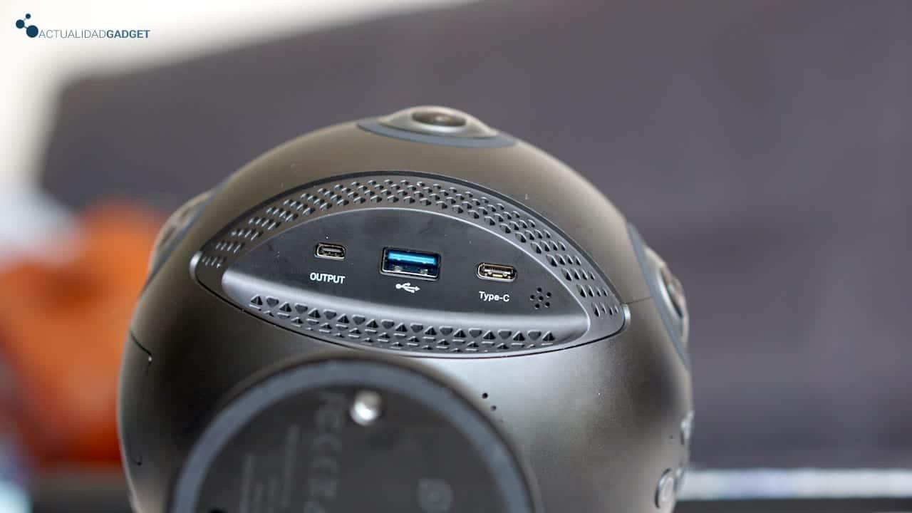 Conexiones Insta360 Pro