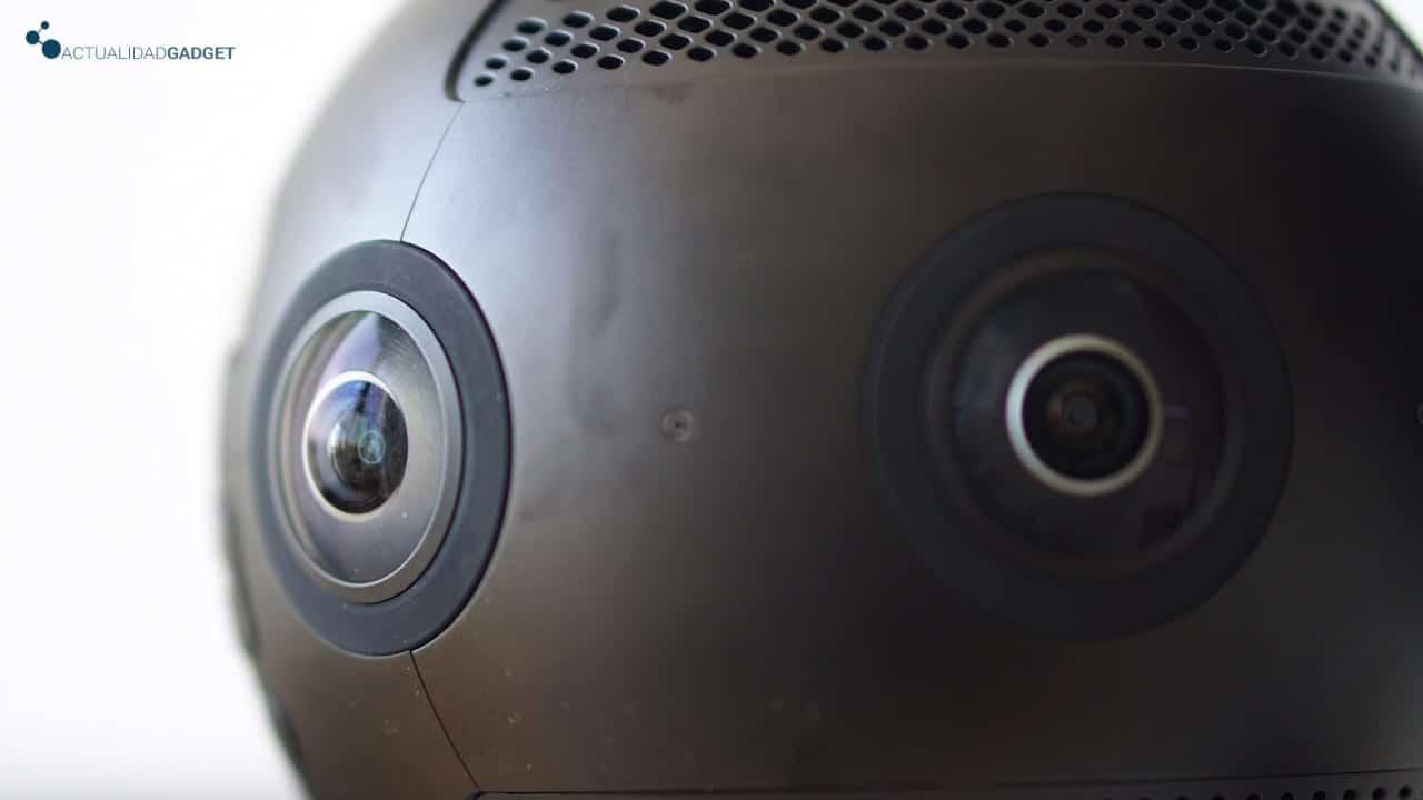 Lentes de la Insta360 Pro