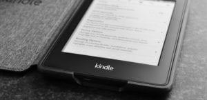 Kindle blanco y negro