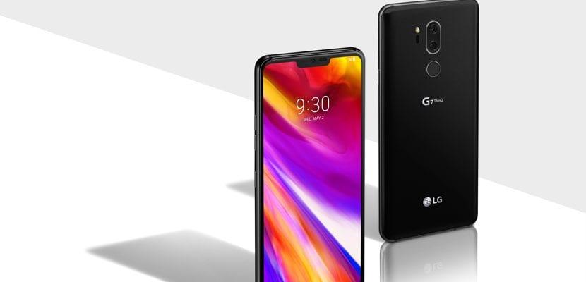 LG G7 ThinQ vistas