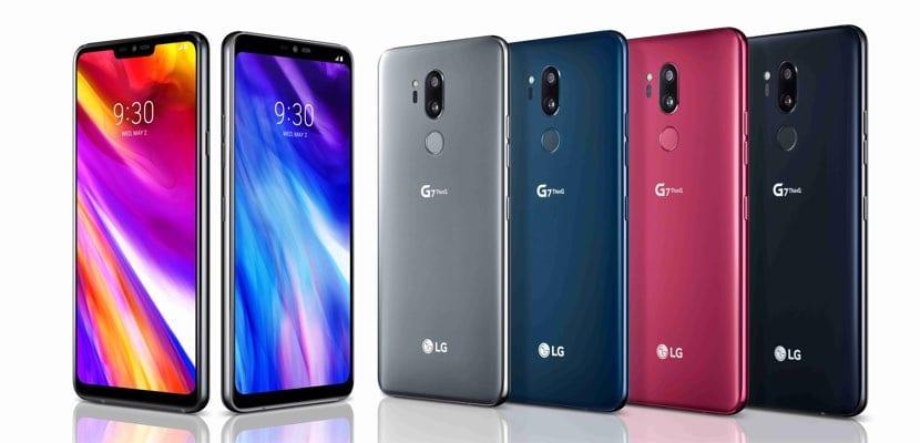 LG G7 ThinQ gama