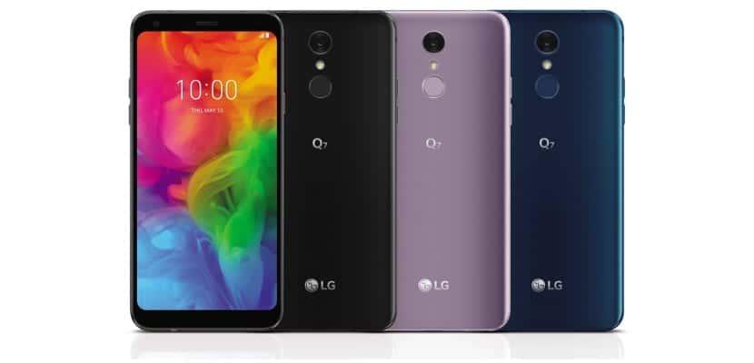 LG Q7 España