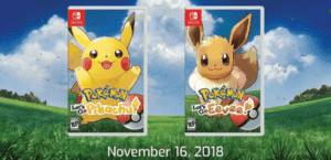 Pokemon Pikachu Eevee Nintendo Switch