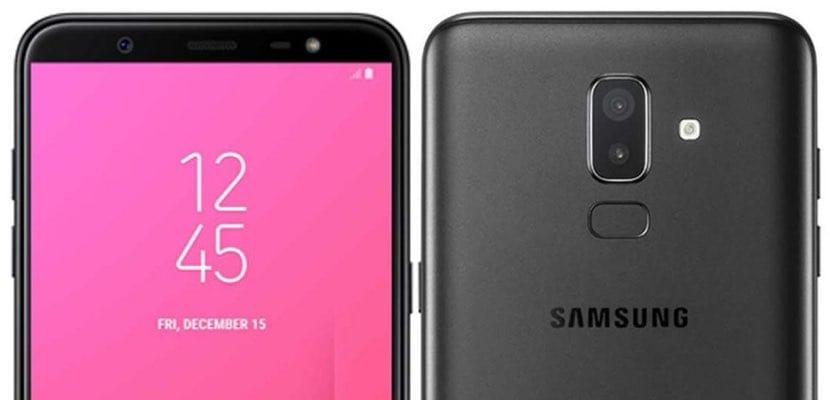 Samsung Galaxy J8 recortes