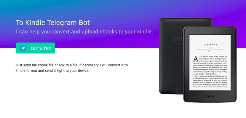 To Kindle Bot Telegram
