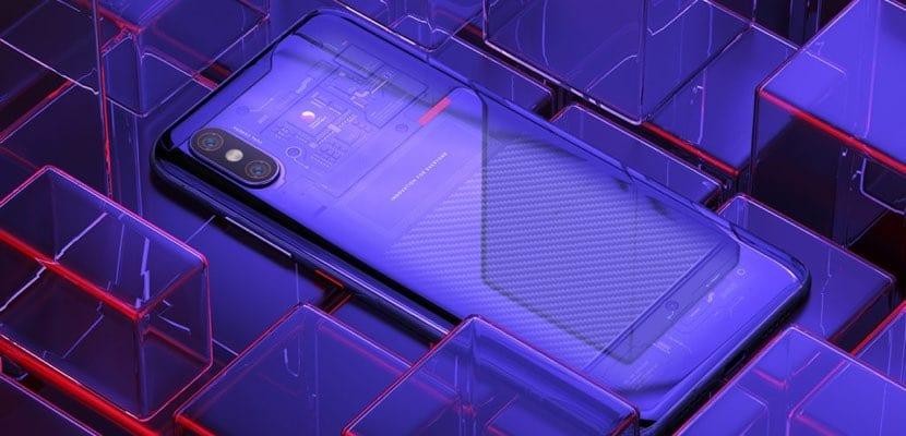 Xiaomi Mi 8 Explorer Edition trasera
