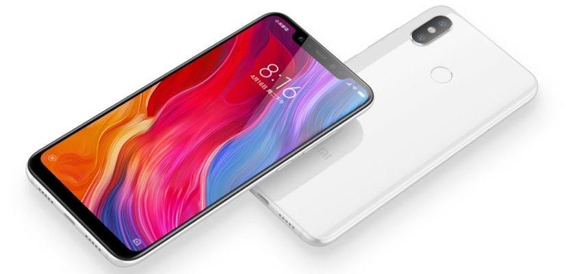 Xiaomi Mi 8 blanco