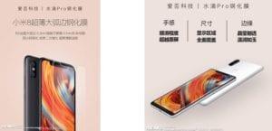 Xiaomi Mi 8 colores