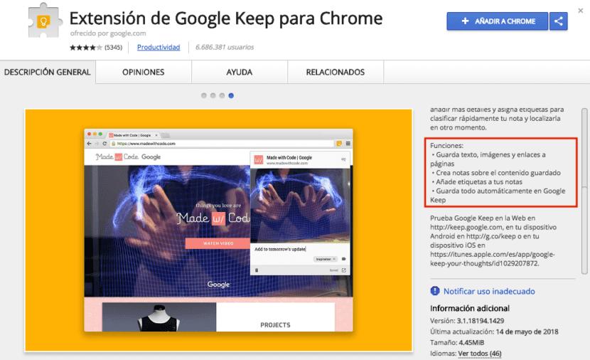 Cómo funcionan las extensiones en Google Chrome