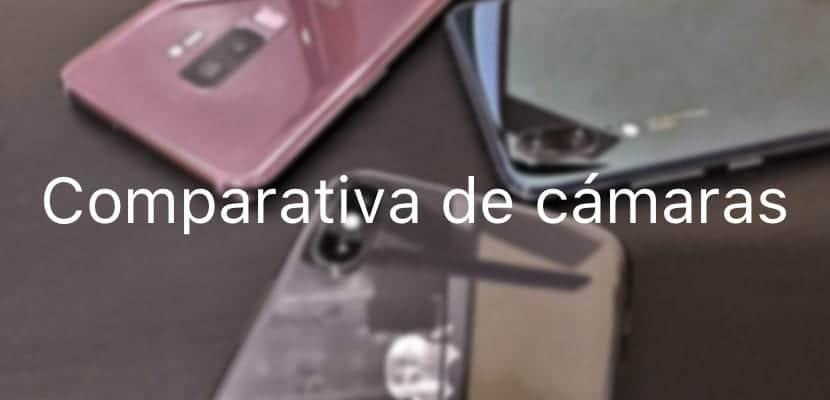 Comparativa De Las Mejores Cámaras De Smartphone Del Mercado Del Huawei P20 Iphone X Y Samsung Galaxy S9 Androidzte