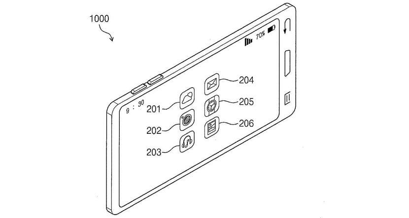 Samsung sin plegar