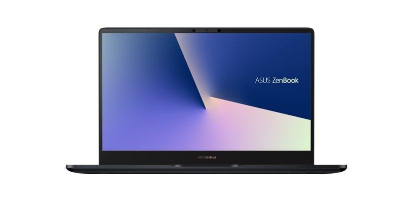ASUS ZenBook Pro vista de frente