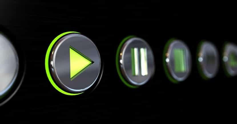 Botones de reproductor multimedia