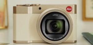 Leica C-Lux dorada