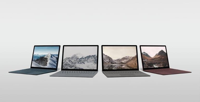 Portátiles con Windows