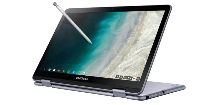 Samsung Chromebook Plus V2 atril