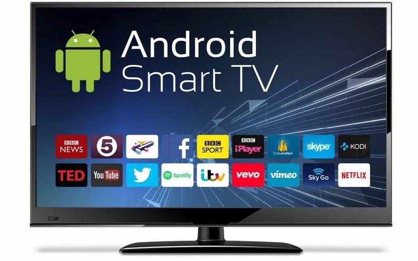 Smart TV con aplicaciones