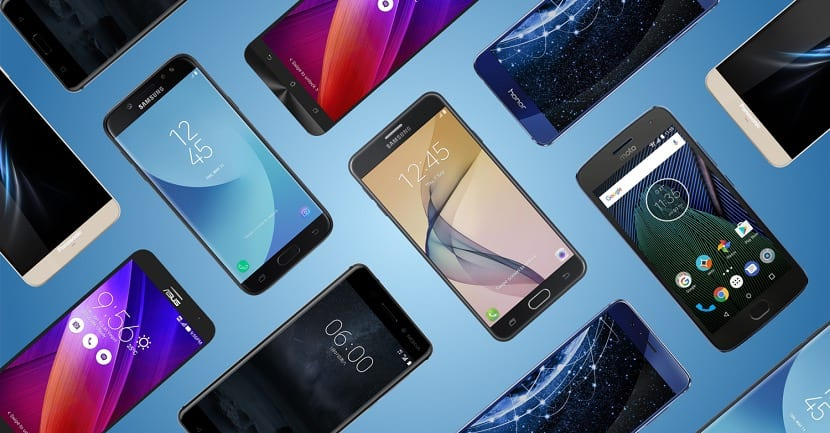 Smartphones baratos