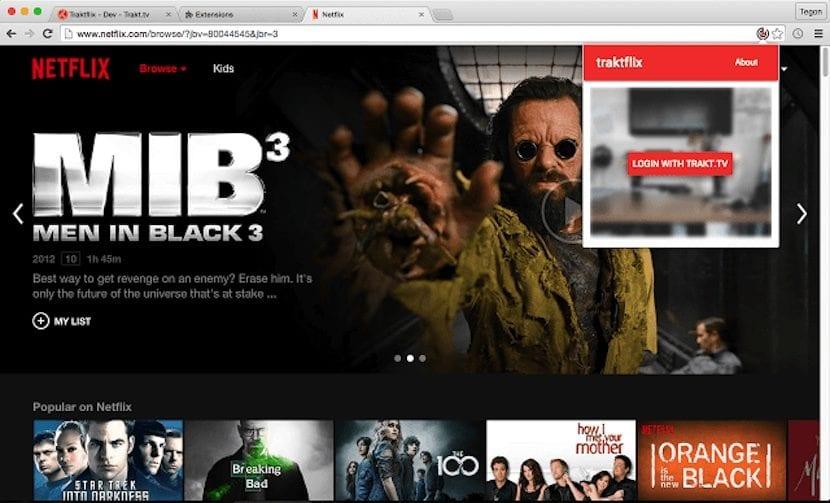 Sincroniza Netflix con Tratk.tv