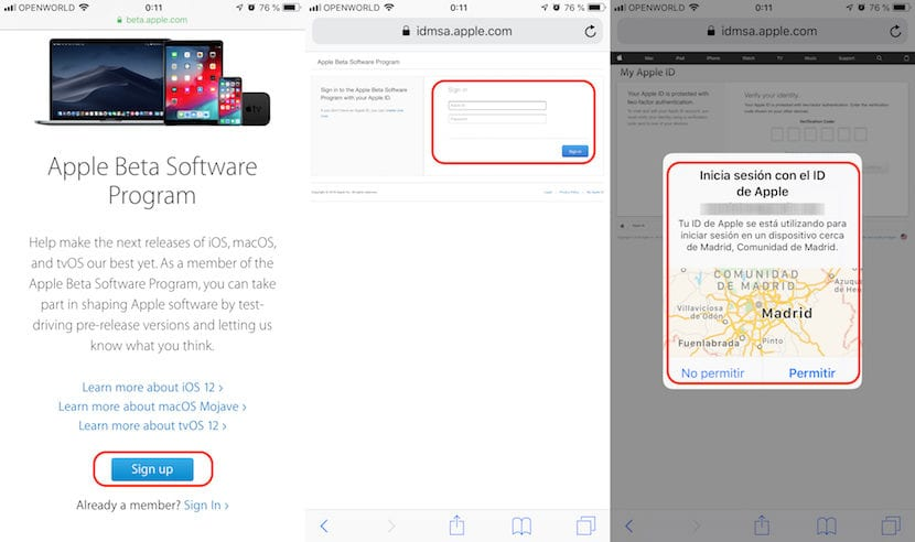 Cómo instalar iOS 12 en el iPhone