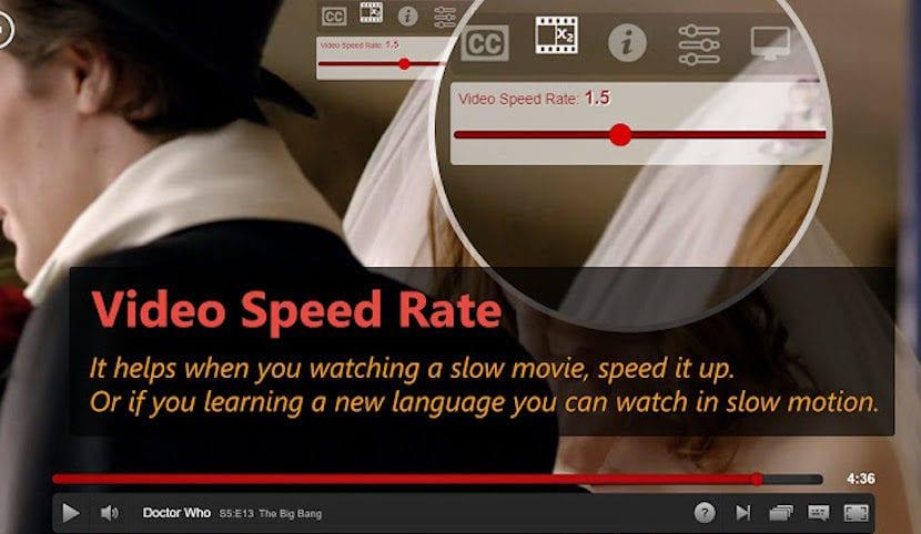 Controla la velocidad de reproducción de los vídeos de Netflix