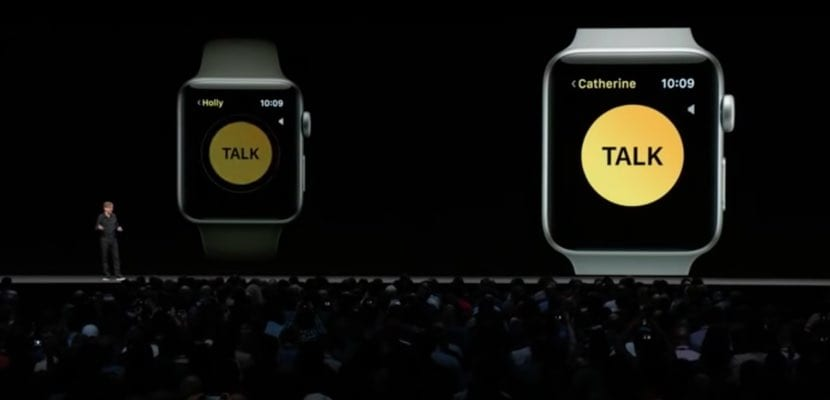 walkie talkie apple watch watchos 5