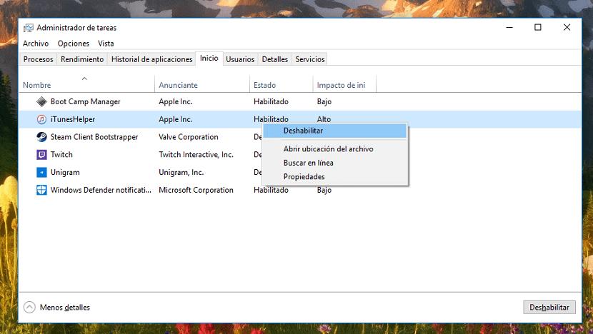 Cómo eliminar aplicaciones del inicio de Windows 10