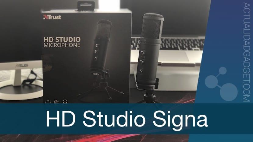 Analizamos el micrófono HD Studio Signa de Trust