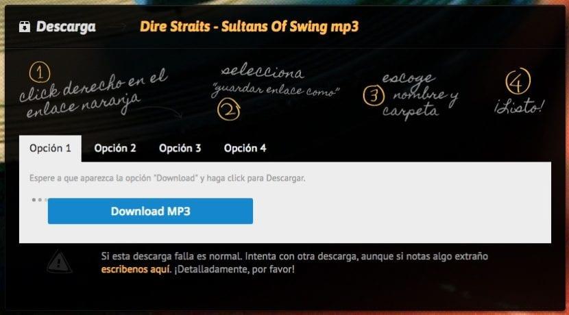 Segundo paso descargar música MP3XD