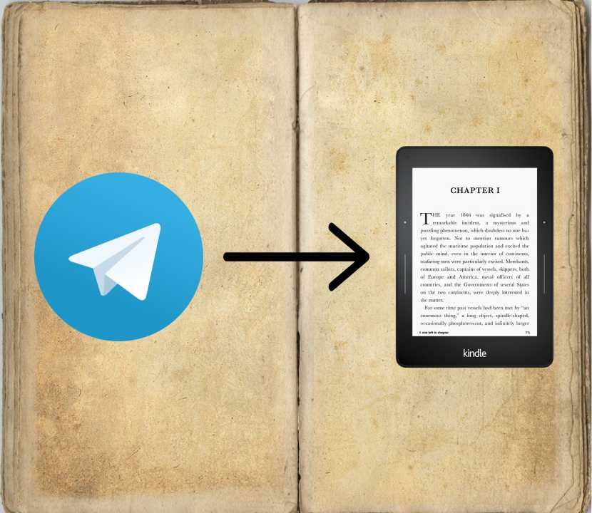 Enviar eBooks de telegram a kindle