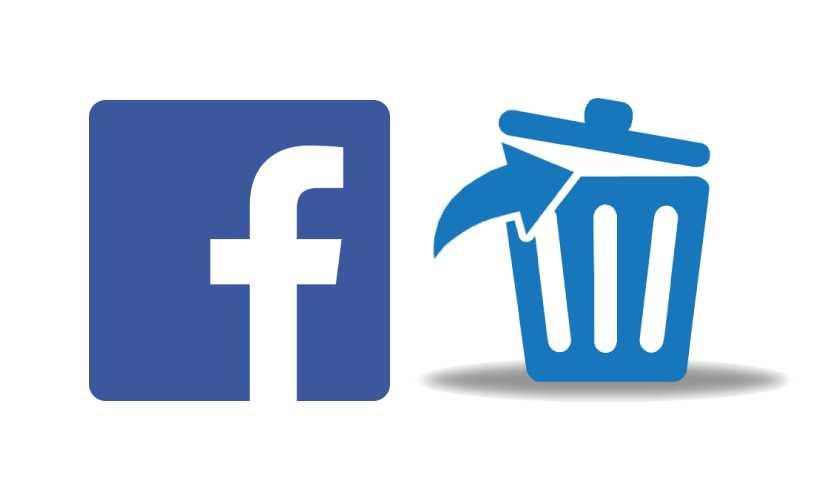 Cabecera eliminar contenido Facebook