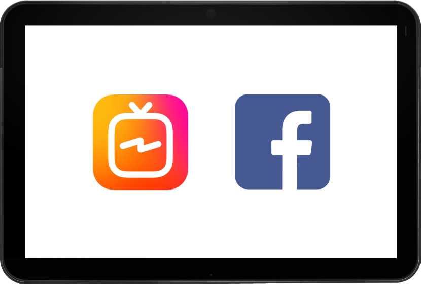 publicar instagram TV Facebook