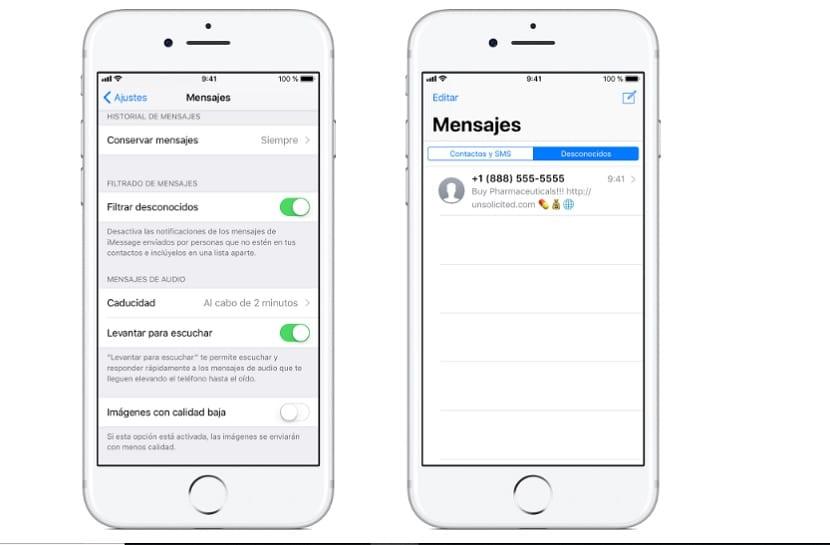 Bloquear numero de telefono en iPhone