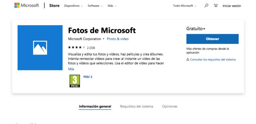 Fotos Microsoft