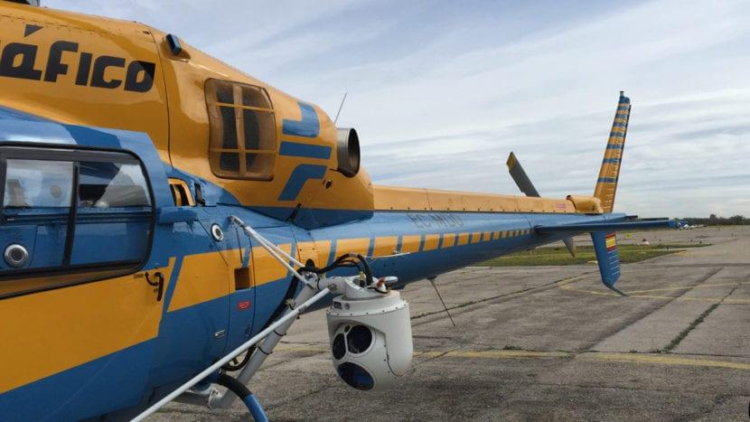 helicóptero pegasus radar