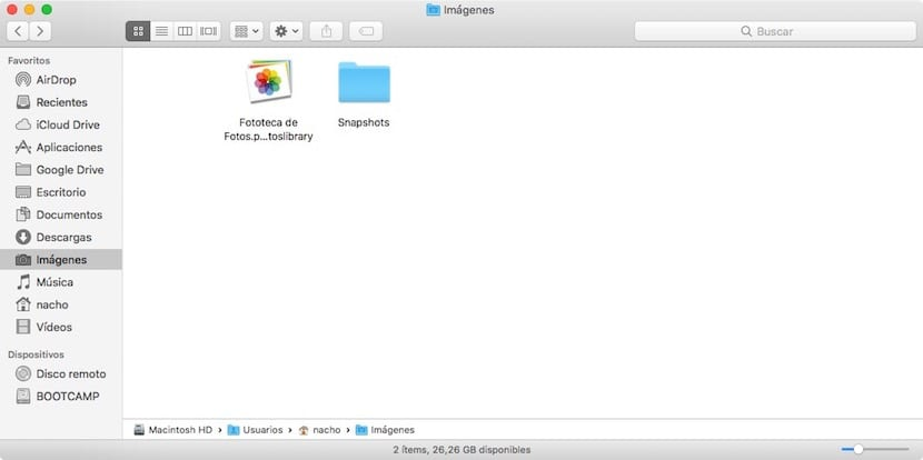 Cambiar directorio donde se almacenan capturas de pantalla en macOS