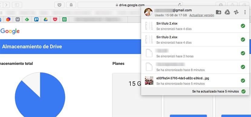 Usar Google Drive desde el ordenador